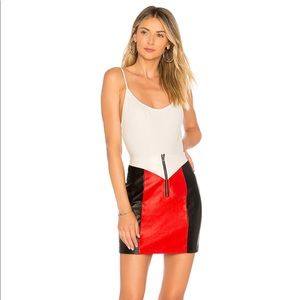 XS Faux Leather Skirt NWT